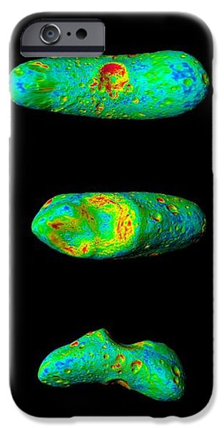 433 Eros Asteroid iPhone Case by NASA / Science Source