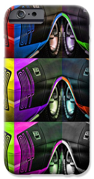 440 iPhone Cases - 440 Cuda Billboard Pop iPhone Case by Gordon Dean II
