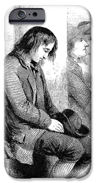 BENJAMIN FRANKLIN (1706-1790) iPhone Case by Granger