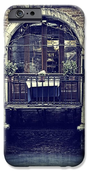 Venetian Balcony iPhone Cases - Venezia iPhone Case by Joana Kruse
