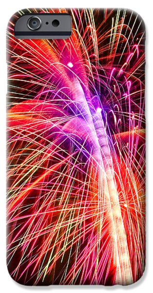 4th of July - Independence Day Fireworks iPhone Case by Gordon Dean II