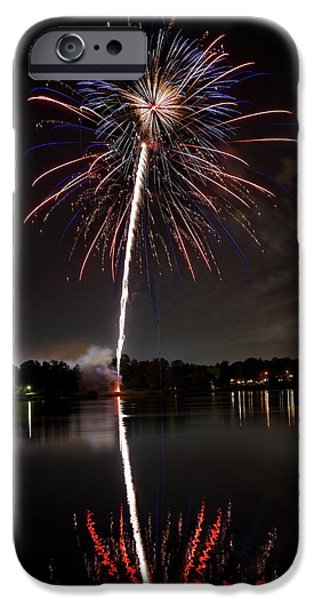 4th July iPhone Cases - 4th of July iPhone Case by Lone  Dakota Photography