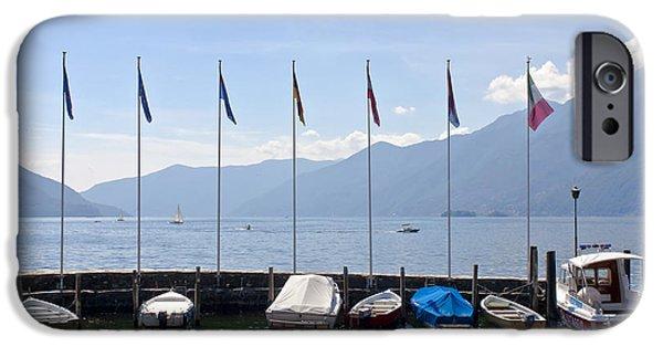 Alps iPhone Cases - Ascona - Ticino iPhone Case by Joana Kruse