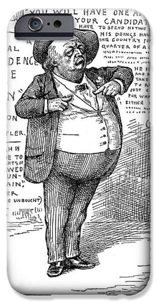 BENJAMIN BUTLER (1818-1893) iPhone Case by Granger