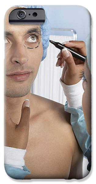 Cosmetic Surgery iPhone Case by Adam Gault