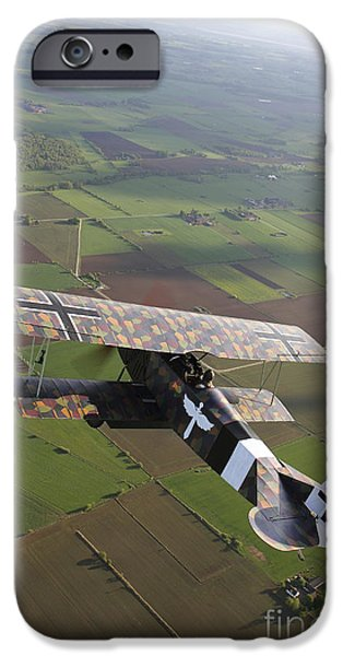Recently Sold -  - World War One iPhone Cases - Fokker D.vii World War I Replica iPhone Case by Daniel Karlsson