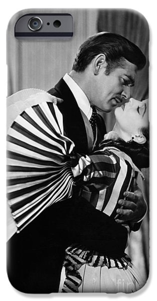 Couple iPhone Cases - Gone With The Wind, 1939 iPhone Case by Granger