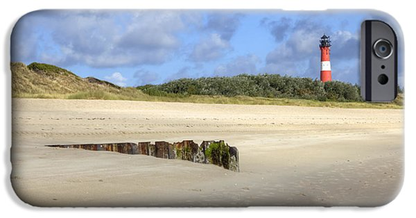 Wadden Sea iPhone Cases - Hoernum - Sylt iPhone Case by Joana Kruse