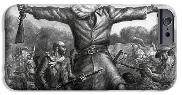 Freedom iPhone Cases - John Brown, American Abolitionist iPhone Case by Photo Researchers