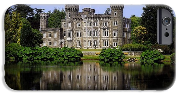 River View iPhone Cases - Johnstown Castle, Co Wexford, Ireland iPhone Case by The Irish Image Collection