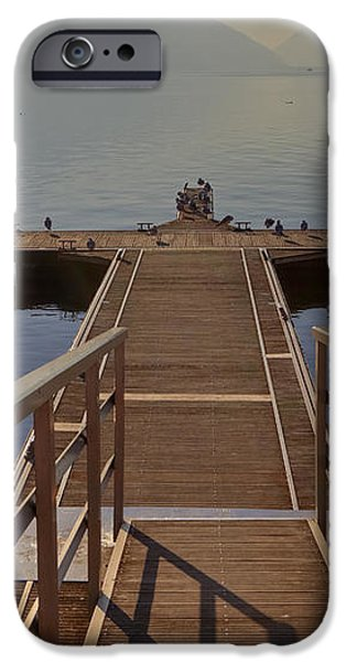 Lago di Lugano iPhone Case by Joana Kruse