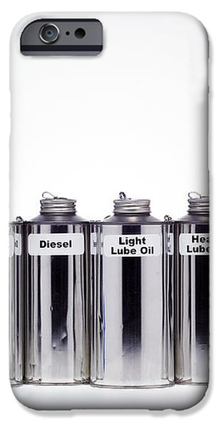 Oil Products iPhone Case by Paul Rapson
