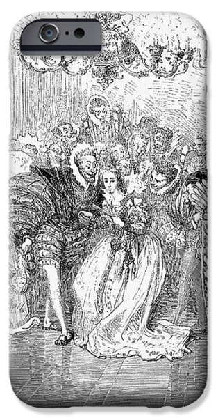 PERRAULT: CINDERELLA, 1867 iPhone Case by Granger