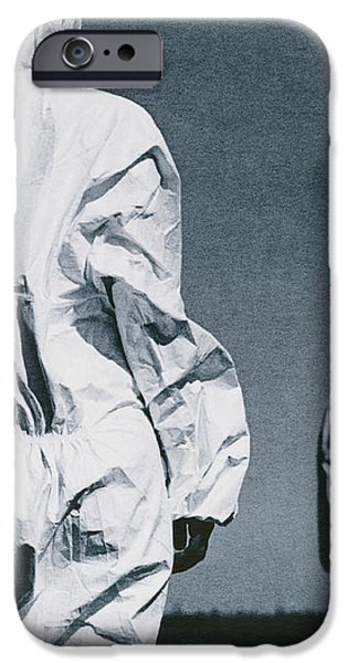 Protective Clothing iPhone Case by Cristina Pedrazzini