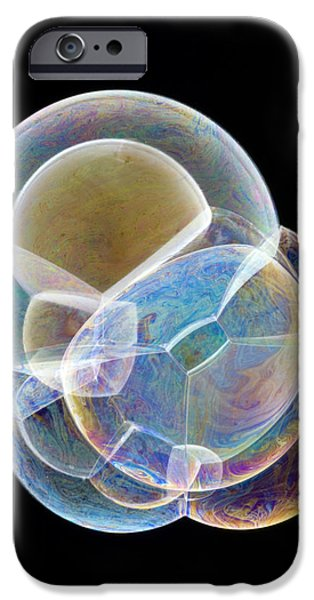 Soap Bubbles iPhone Case by Lawrence Lawry