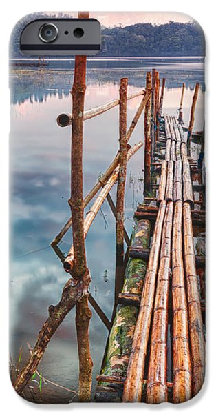 Tamblingan lake iPhone Case by MotHaiBaPhoto Prints