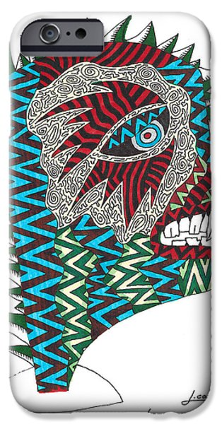 Graphic Design iPhone Cases - Untitled iPhone Case by Jerry Conner