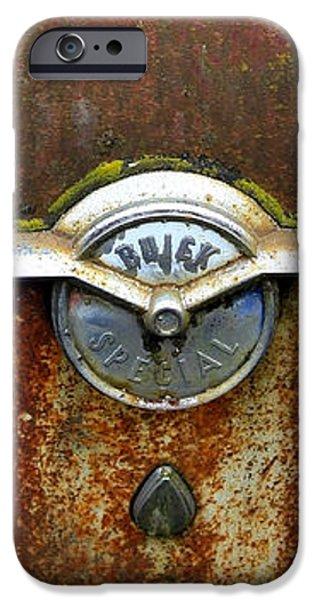 54 Buick Emblem iPhone Case by Steve McKinzie