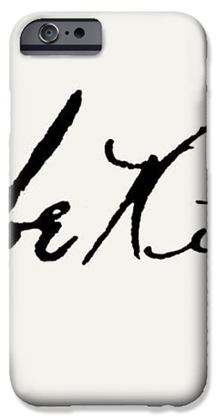 GEORGE H. RUTH (1895-1948) iPhone Case by Granger