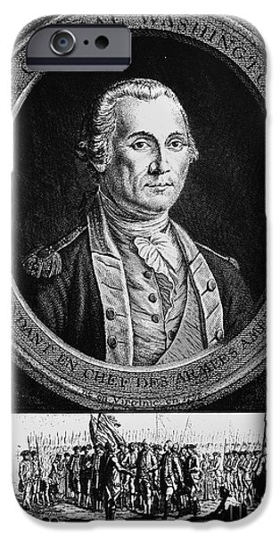 Recently Sold -  - Yorktown iPhone Cases - George Washington iPhone Case by Granger