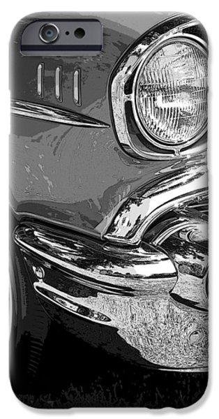 57 Chevy  iPhone Case by Steve McKinzie
