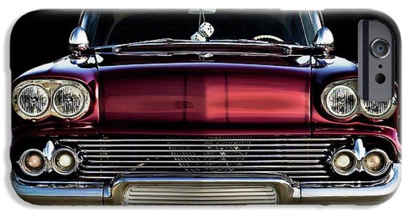 Fuzzy Digital iPhone Cases - 58 Impala Custom iPhone Case by Douglas Pittman