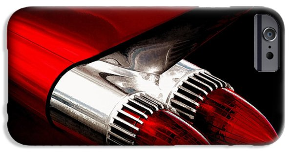 Tail iPhone Cases - 59 Caddy Tailfin iPhone Case by Douglas Pittman