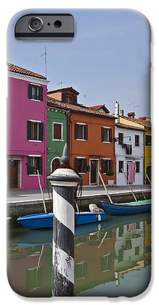 Burano - Venice - Italy iPhone Case by Joana Kruse