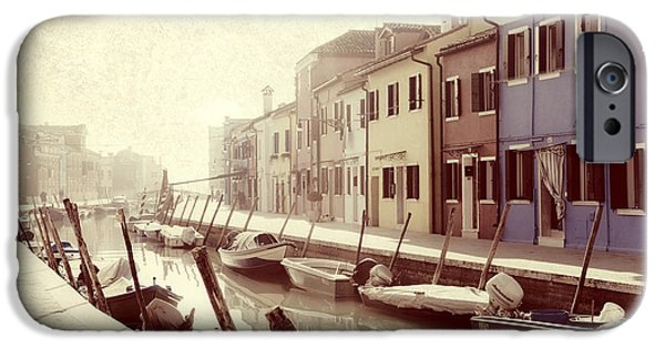 Boat iPhone Cases - Burano iPhone Case by Joana Kruse