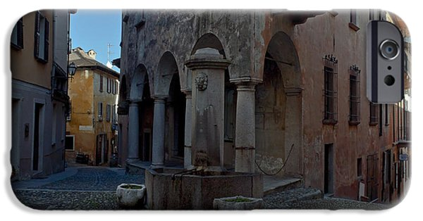 Alley Photographs iPhone Cases - Cannobio - Italy iPhone Case by Joana Kruse