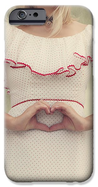 Forming iPhone Cases - Heart iPhone Case by Joana Kruse