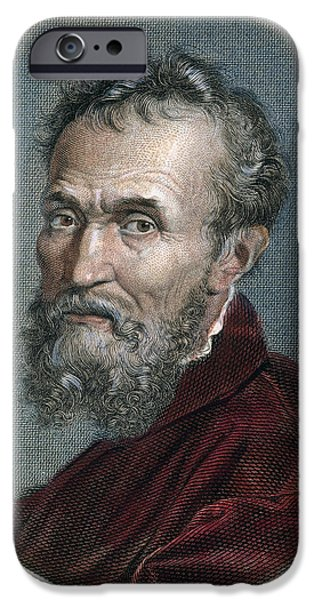 MICHELANGELO (1475-1564) iPhone Case by Granger