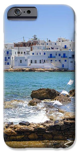 Paros - Cyclades - Greece iPhone Case by Joana Kruse