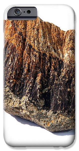 Rock From Meteorite Impact Crater iPhone Case by Detlev Van Ravenswaay