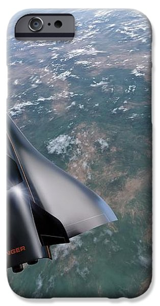 Saenger Horus Spaceplane, Artwork iPhone Case by Detlev Van Ravenswaay