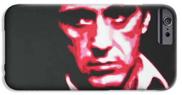 Michelle Pfeiffer iPhone Cases - Scarface iPhone Case by Luis Ludzska