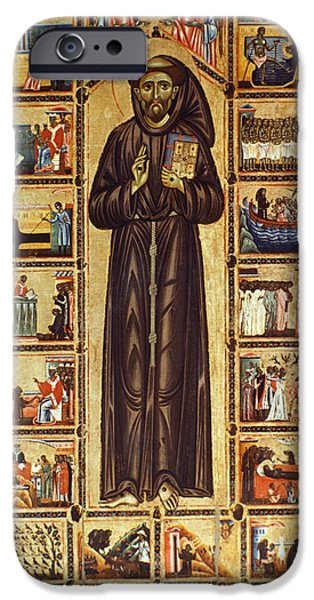 Aod iPhone Cases - St Francis Of Assisi iPhone Case by Granger