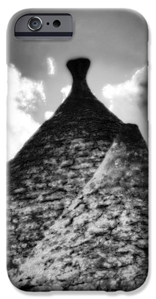 Roofs iPhone Cases - Trulli iPhone Case by Joana Kruse