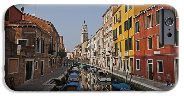 Architecture iPhone Cases - Venice - Italy iPhone Case by Joana Kruse