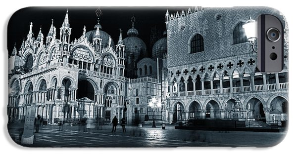 Piazza San Marco iPhone Cases - Venice iPhone Case by Joana Kruse