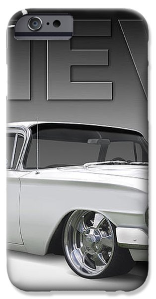60 Chevy El Camino iPhone Case by Mike McGlothlen