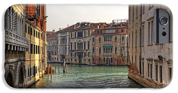 Venetian Canals iPhone Cases - Venezia iPhone Case by Joana Kruse