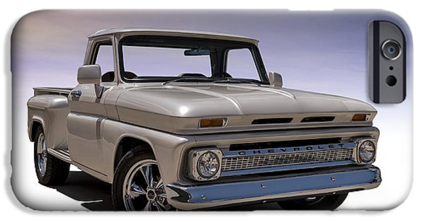 Chevrolet iPhone Cases - 66 Chevy Pickup iPhone Case by Douglas Pittman