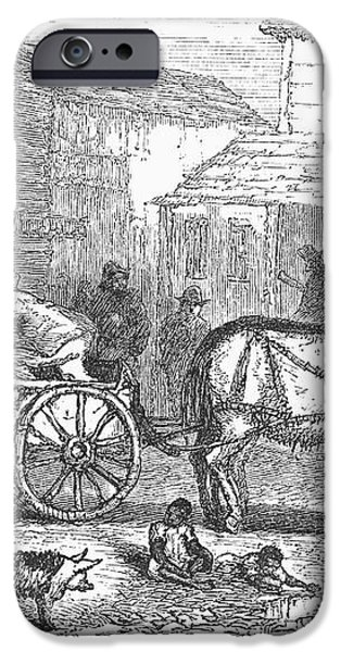 ARKANSAS: HOT SPRINGS, 1878 iPhone Case by Granger