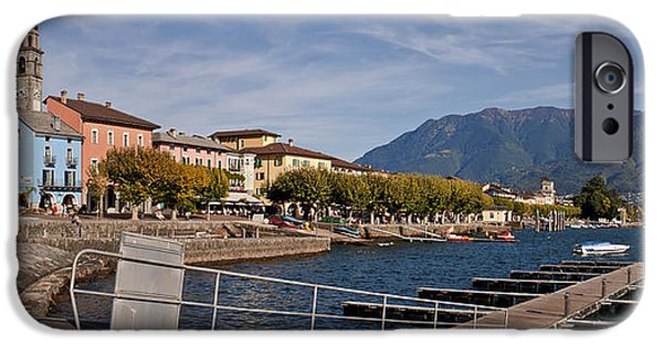 Balcony iPhone Cases - Ascona - Ticino iPhone Case by Joana Kruse