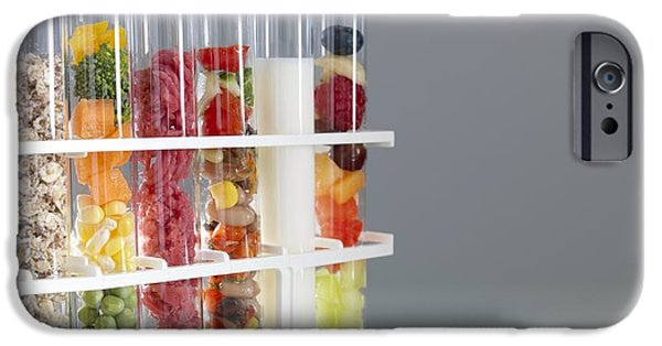 Component iPhone Cases - Balanced Diet iPhone Case by Tek Image