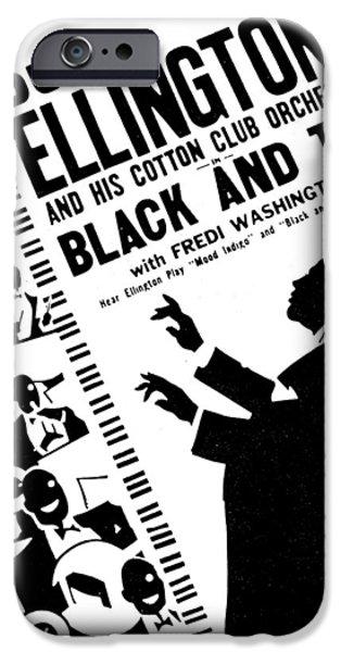 Harlem iPhone Cases - Duke Ellington (1899-1974) iPhone Case by Granger