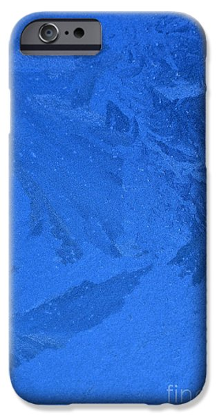 Frost on a Windowpane iPhone Case by Thomas R Fletcher