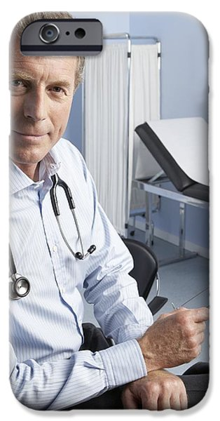 Medical Equipment iPhone Cases - General Practitioner iPhone Case by Adam Gault