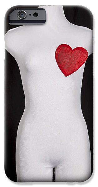 Conceptual iPhone Cases - Heart iPhone Case by Joana Kruse